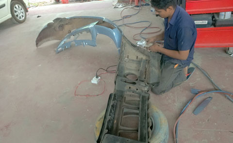 Car alteration works in Thrissur, kerala